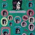貞子kitty 貼紙綠 $170