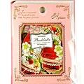 QA貼紙包 貼紙書系列 QA61442草莓粉 $85 合購價$80