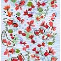 ACTIVE貼紙 夏之詩和風系列 SB-328S金魚 $95 A