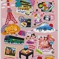 MW貼紙 國家旅遊系列第二彈 MW74606日本 $75