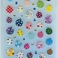 MW夏日貼紙 MW74513水晶水球 $120 A