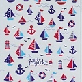 MW夏日貼紙 MW74529帆船 $75 A