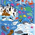 KJ貼紙 動物當家第2彈 KJ44126海洋動物 $75