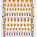 KJ貼紙 繽紛系列第4彈 KJ44103啤酒調酒 $80