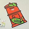 紅色郵筒造型明信片 JP LOWSON限定 $95 A