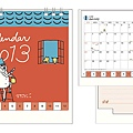 現貨~midori月曆 歐吉桑系列 桌上型S $280