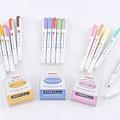 ZEBRA MILDLINER淡色雙頭螢光筆 共三色組 淡色組/深色組/和風組 $250/組