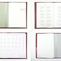 midori FLAT文件夾手帳 內頁照