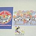 史努比明信片2枚入 誕生祭系列 $170 A