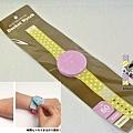 可帶手上 手錶造型便利貼 水玉黃 $250