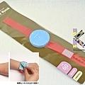 可帶手上 手錶造型便利貼 紅 $250