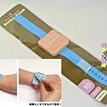 可帶手上 手錶造型便利貼 藍 $250
