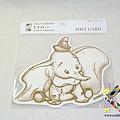 迪士尼造型明信片 110週年限定版 DM-77小飛象 $130 A