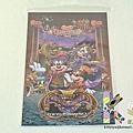 迪士尼海洋限定 12年萬聖節明信片 燙金化妝舞會 $120 A