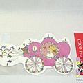 COCO醬造型明信片 RY-213馬車 $130