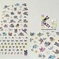 迪士尼DS限定 手帳貼紙 裝扮史迪奇 $210 A.jpg