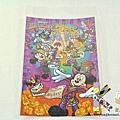 迪士尼樂園限定 12年萬聖節明信片 水晶亮粉南瓜舞會 $120 A