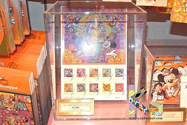 迪士尼TDL限定  2012萬聖節限定 貼紙型郵票 $900A