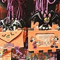 迪士尼TDL限定  2012萬聖節限定 造型掛吊票夾 $690A