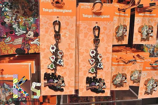 迪士尼TDL限定  2012萬聖節限定 鑰匙圈 $550A