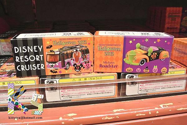 迪士尼TDL限定  2012萬聖節限定 萬聖巴士/萬聖跑車 $550A