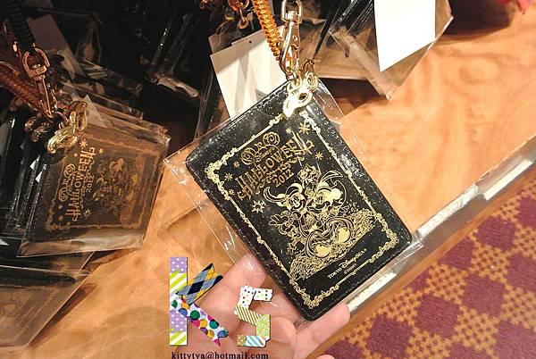 迪士尼海洋限定 2012萬聖節限定 燙金化妝舞會伸縮票夾 $690A