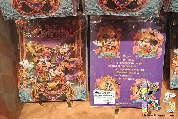 迪士尼海洋限定 2012萬聖節限定 相片收納冊 $420A