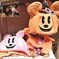 迪士尼TDL限定 2012萬聖節限定造型雙面南瓜米奇帽 $1480A