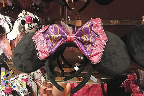 迪士尼TDL限定 2012萬聖節限定蝴蝶結髮圈 $750A