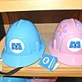 迪士尼TDL限定 怪獸電力公司造型帽 粉/藍