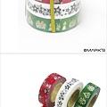 Mark's和紙膠帶2012限定聖誕系列 MKT18-RE紅