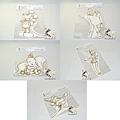 迪士尼造型明信片 110週年限定版