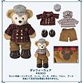 迪士尼海洋園內限定商品 Duffy玩偶配件衣 格子 $4600 [訂金請付$4600]