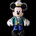 迪士尼海洋園內限定商品 海洋米奇玩偶吊飾 $890 [訂金請付$450]