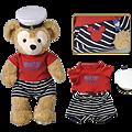 迪士尼海洋園內限定商品 Duffy玩偶配件 海軍T $1700 [訂金請付$850]