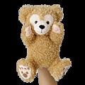 迪士尼海洋園內限定商品 Duffy玩偶造型手套 $1290A [訂金請付$650]
