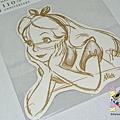 迪士尼造型明信片 110週年限定版 DM-76愛麗絲 $130 A