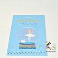 Mocha燙金聖誕明信片 XP-199天鵝湖水晶球 $75 A