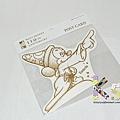 迪士尼造型明信片 110週年限定版 DM-79小米奇 $130 A