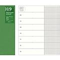 MIDORI Traveler's Notebook TN手帳補充周邊 019補充週間方眼本(14331006) $280