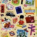 MW貼紙 國家旅遊系列 MW74581英國