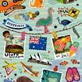 MW貼紙 國家旅遊系列 MW74582澳州