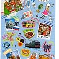 MW貼紙 國家旅遊系列 MW74584俄羅斯
