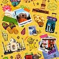 MW貼紙 國家旅遊系列 MW74585印度