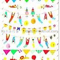 TONARY AIUEO系列 POP手帳貼紙 SPS-11馬戲團 $140 A