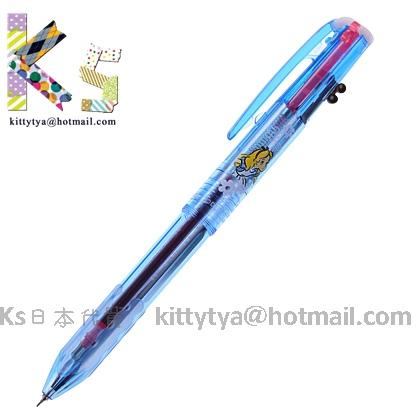 PILOT HI-TEC-C COLETO三色變芯筆 迪士尼DS限定款 愛麗絲藍