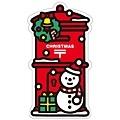 日本郵局2014年冬限定商品 紅色郵筒造型明信片 $100