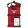 紅色郵筒造型明信片 TokyoCity限定 TokyoCityi07 一張$95