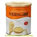 和光堂 沖泡飲家庭號鐵罐裝 牛奶屋的咖啡牛奶 $350