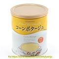 和光堂 泡飲家庭號鐵罐裝 北海道玉米濃湯 $350